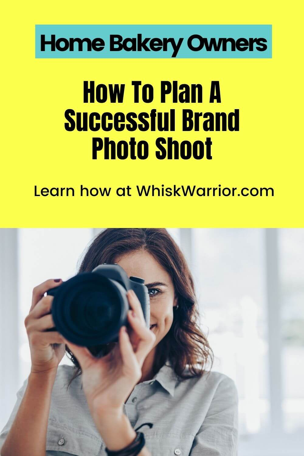 A step-by-step guide on how to plan a successful brand photo shoot for your home bakery business.