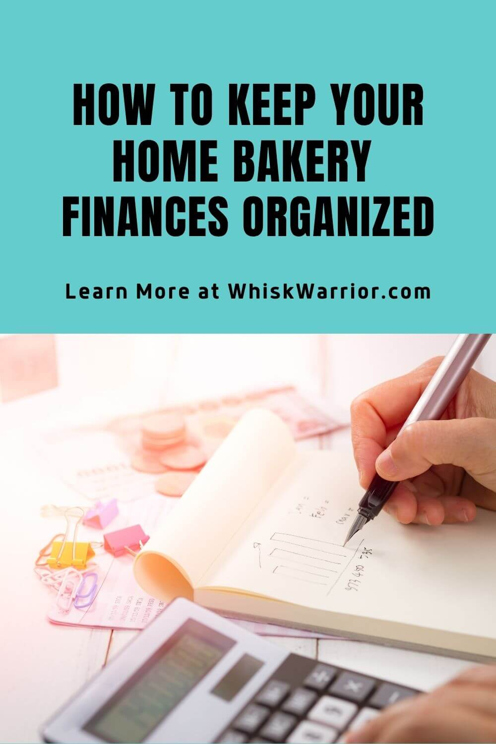 Tips and tricks for getting a better tracking on the finances of your home bakery. #homebakery #homebakingbusiness #bakingbusiness