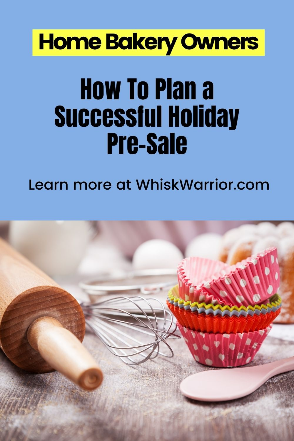 A course where bakery business owners will learn how to plan and execute a profitable Holiday Pre-Sale with a tried and tested step-by-step strategy. These nine video lessons show you the roadmap to pre-sale success.